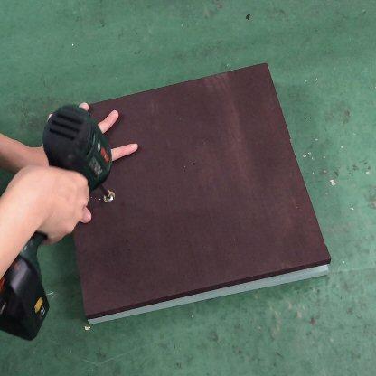 回転板の取り付け方